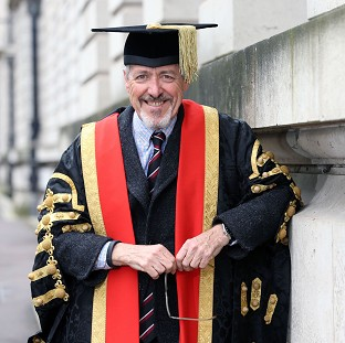 Griff Rhys Jones had been expected to be named chancellor of Cardiff University