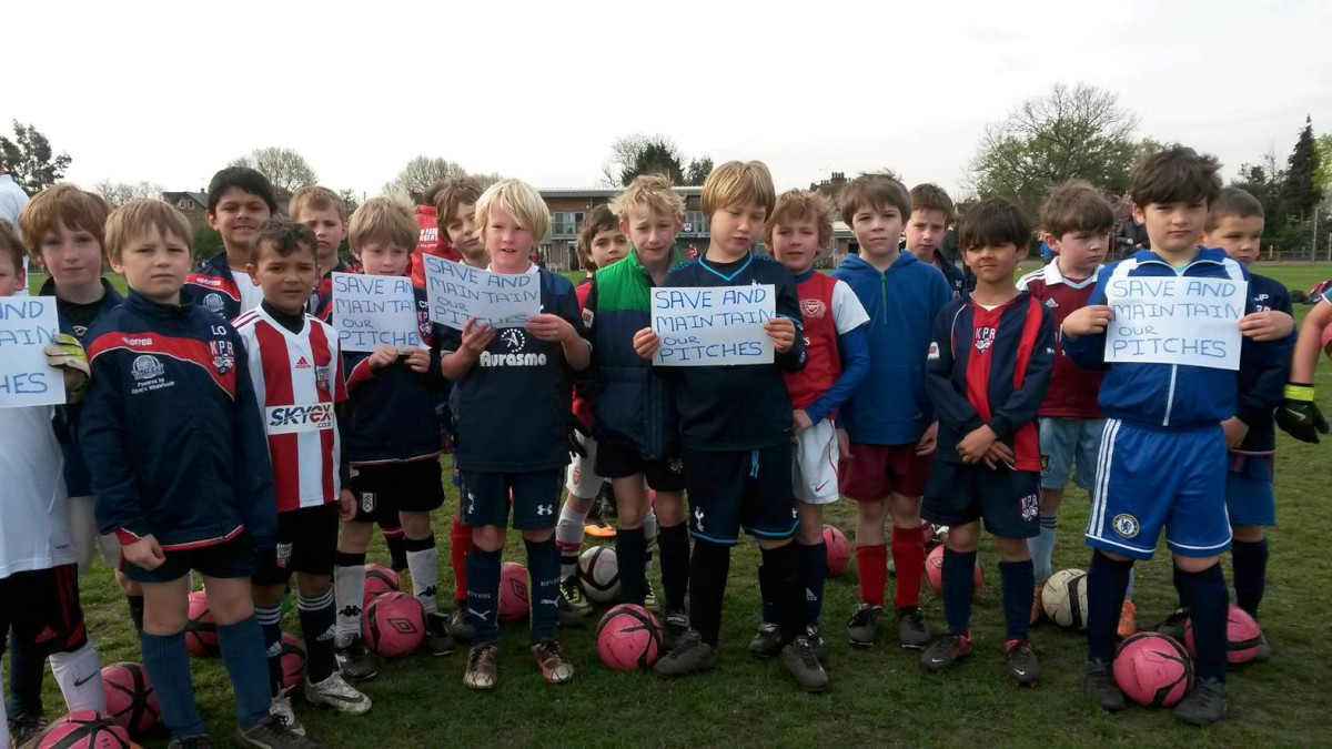 Kew Park Rangers: Angry about pitches