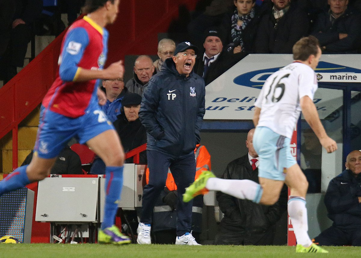 Disappointed: Tony Pulis reckons Manchester United have turned their back on all the club stood for in how it handled David Moyes' sacking             SP78369