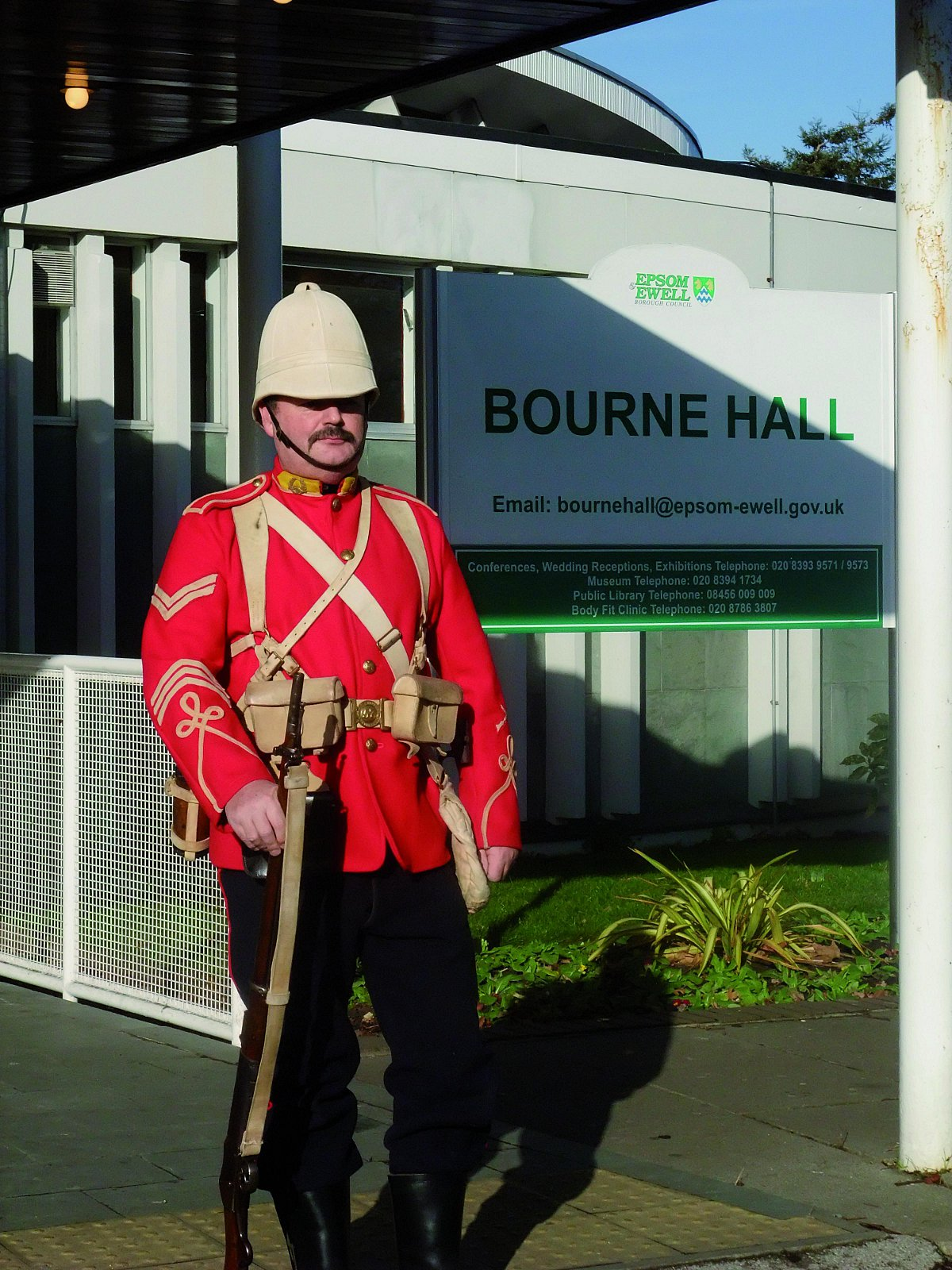 Bourne Hall will be hosting a special Soldiers of Surrey event