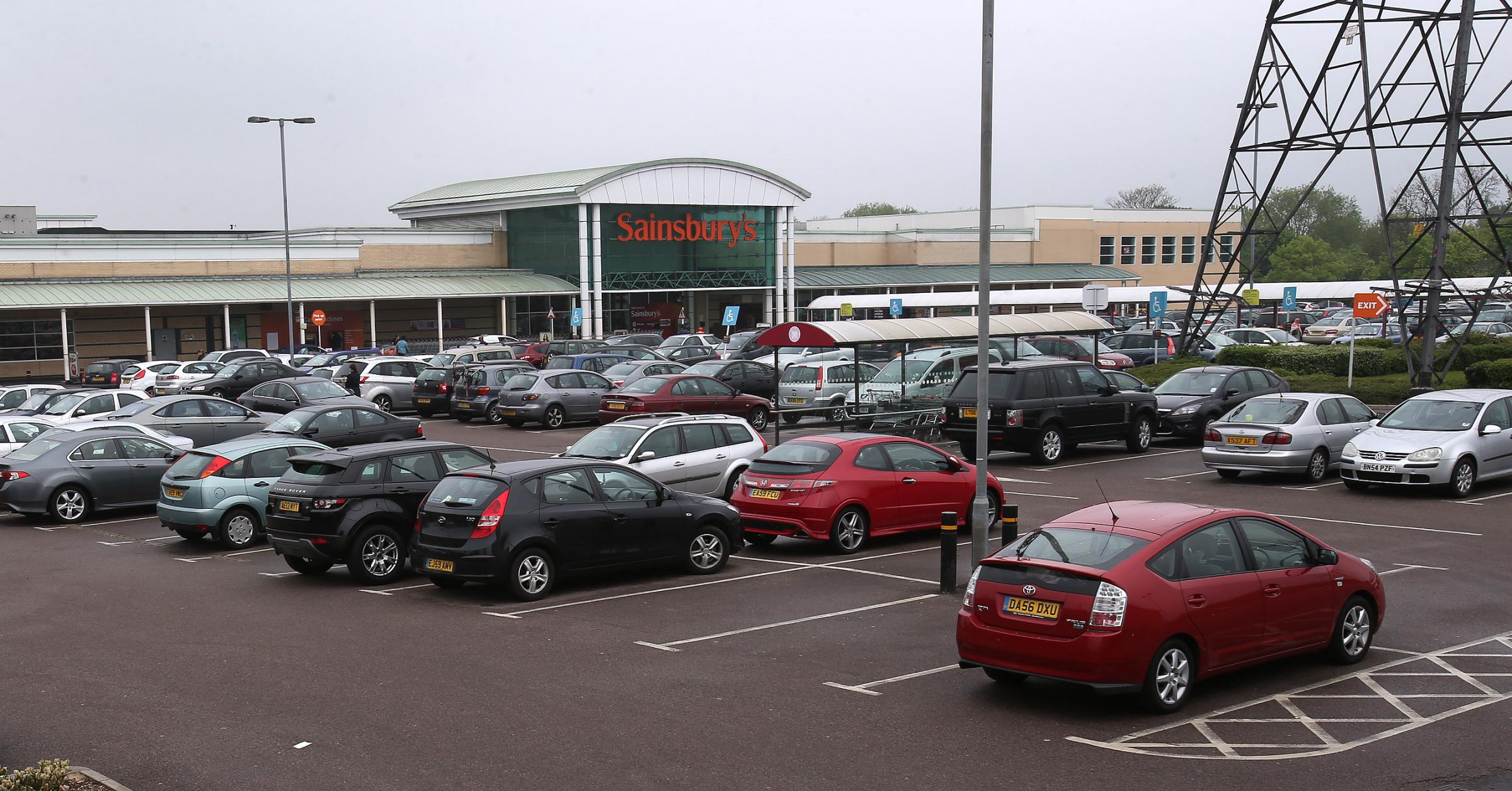 Man stabbed in superstore car park during Thursday afternoon rush-hour