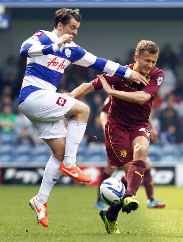This Is Local London: Almen Abdi missed yesterday's game with a knee injury. Picture: Action Images