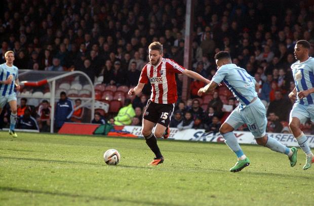 This Is Local London: On the mark: Northern Irishman Stuart Dallas has impressed in a recent run of starts for Brentford