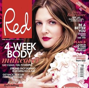 This Is Local London: Drew Barrymore was speaking to Red magazine