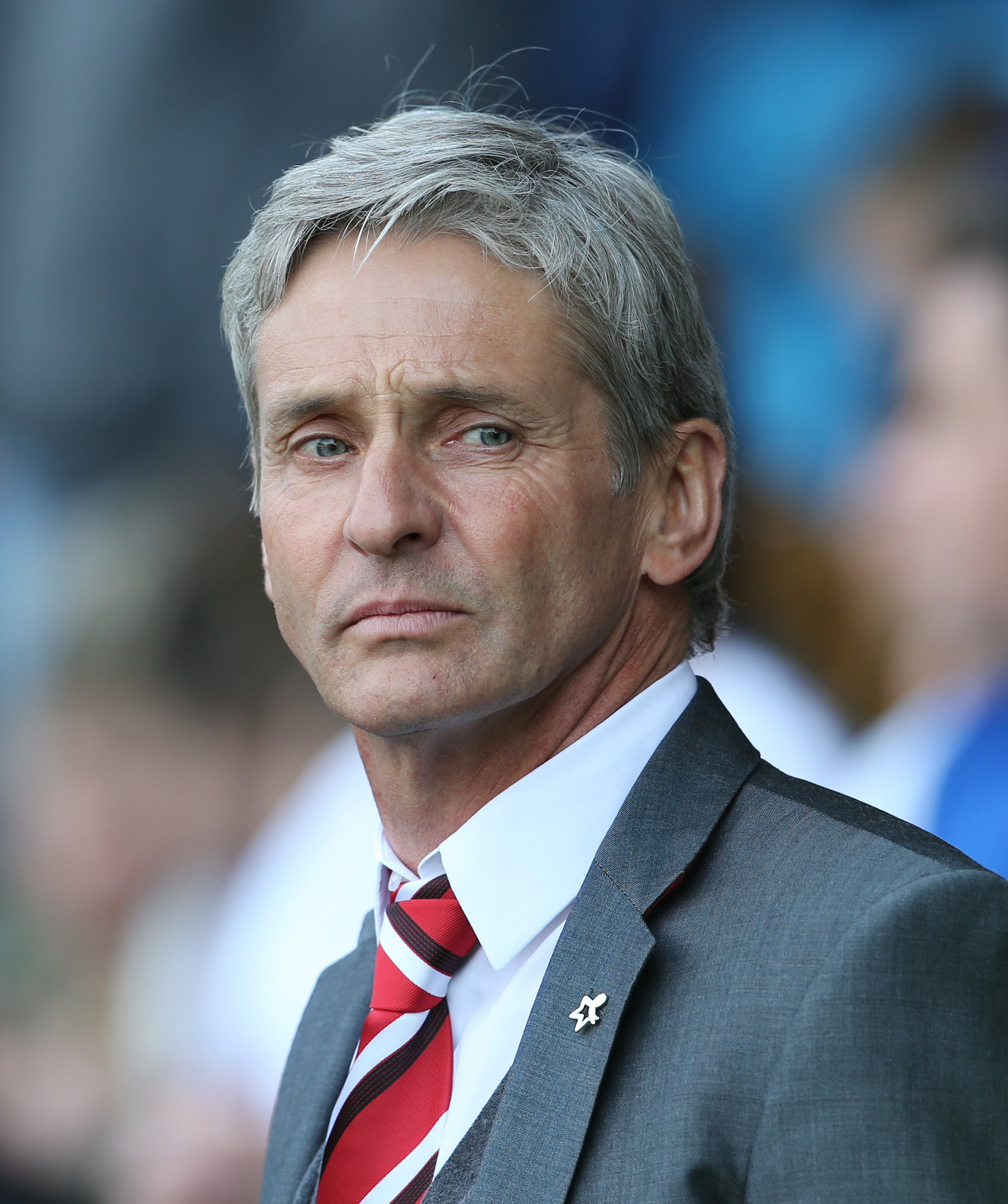 Former Standard Liege boss Jose Riga replaced Chris Powell on March 11. Picture: Action Images