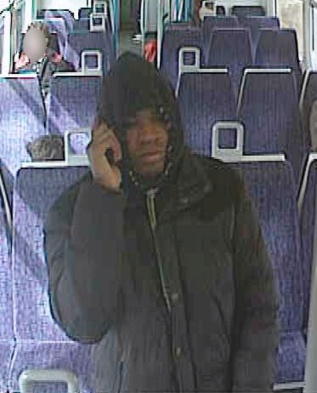 Do you know this man? Police have released a CCTV image of a man they want to speak to in connection with a robbery