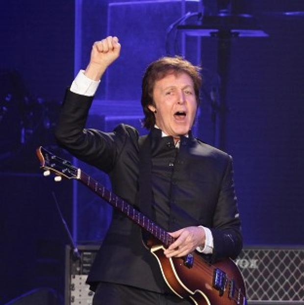 This Is Local London: Sir Paul McCartney has played a gig at 2,800 metres above sea level.