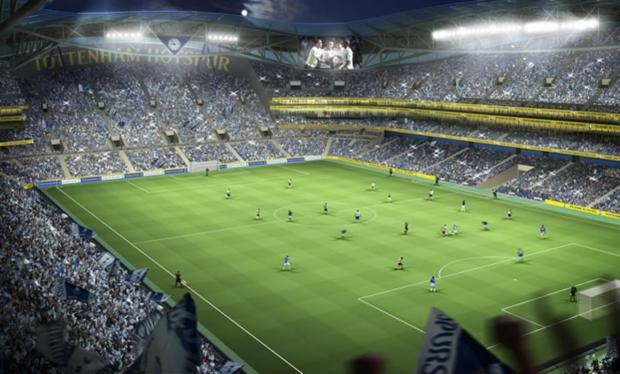 This Is Local London: How Tottenham's new stadium, which will be built on land adjacent to White Hart Lane, will look
