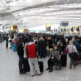 An IT glitch is understood to be causing delays at several airp