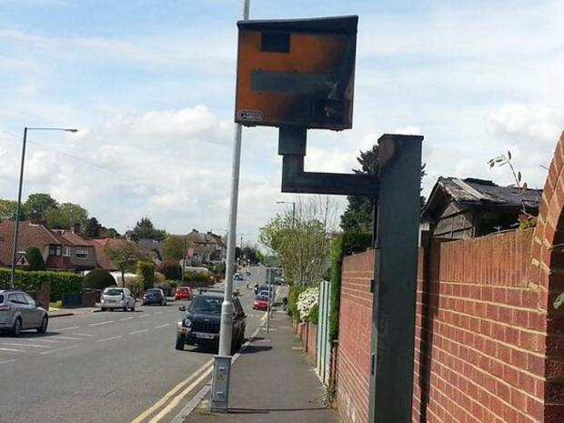 Police appeal for information after Dartford speed camera set on fire