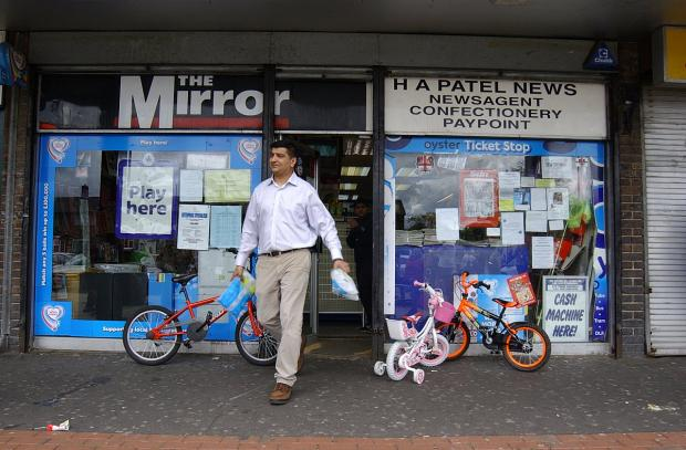 This Is Local London: Beloved Abbey Wood newsagent thrown surprise leaving party after 25 years