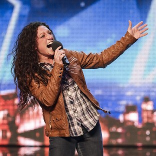 Eva Iglesias auditions for Britain's Got Talent