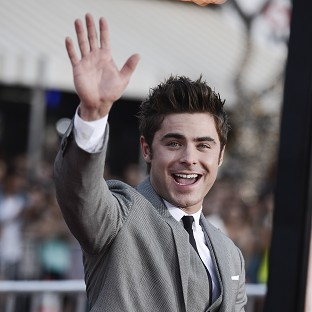 Zac Efron is back on track after a stint in rehab