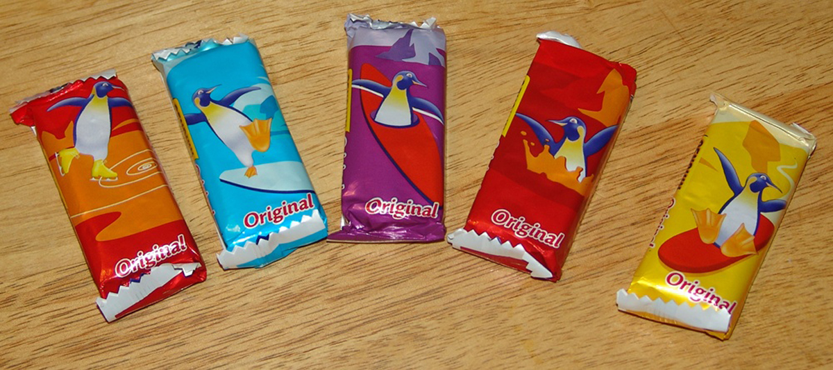 Can you p-p-p-possibly settle the question of whether the Penguin is a biscuit or chocolate bar?