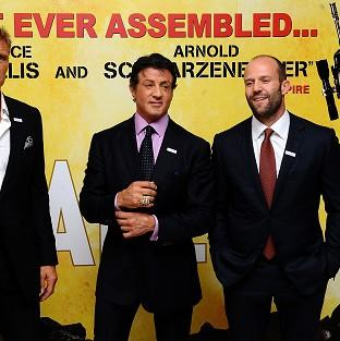 Dolph Lundgren, Sylvester Stallone and Jason Statham are all back for The Expendables 3