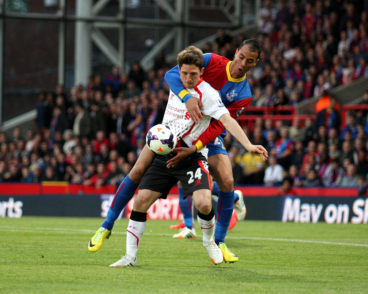 This Is Local London: Marouane Chamakh challenges Joe Allen