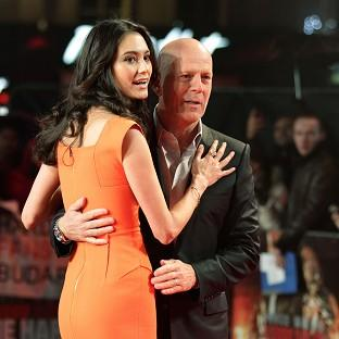 Bruce Willis and his wife Emma Heming-Willis