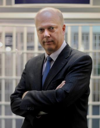 Justice Secretary Chris Grayling MP has denied that there is a prison overcrowding crisis