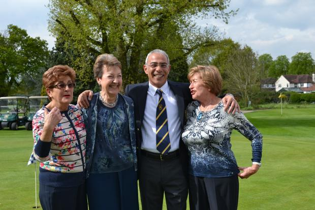 Golfers raise £11,000 for charity