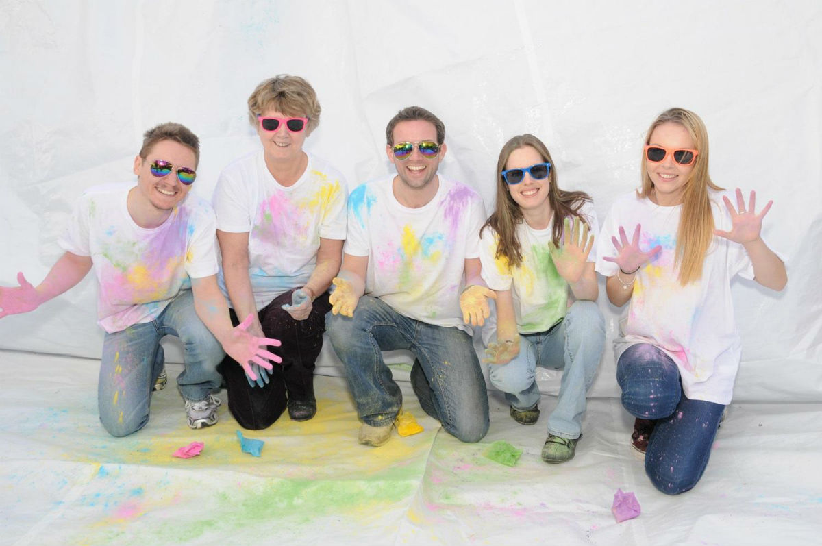 The Rainbow Run will take place at the Furzefield Centre in Potters Bar on Sunday May 18.