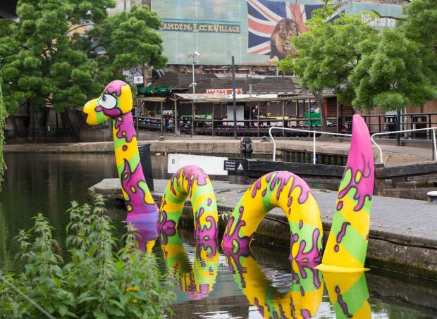 Camden creative festival launches with 'Lock' Ness Monster