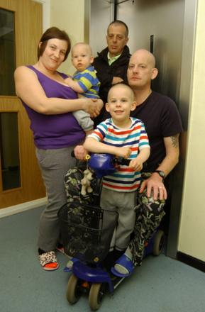 Disabled former soldiers hits out at housing association after tower block lifts broken for five days
