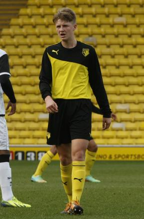 George Byers has signed a pro deal with Watford. Picture: Holly Cant