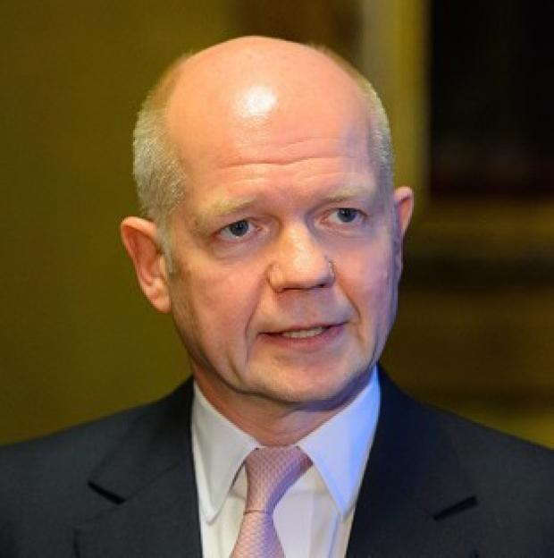 This Is Local London: William Hague has dismissed weekend referendum votes staged by pro-Russian separatists in eastern Ukraine