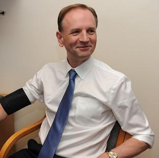 "This Is Local London: The new NHS England chief executive Simon Stevens, who has told colleagues to ""think like a patient and act like a taxpayer"""