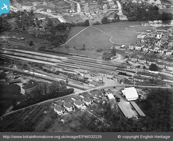 This Is Local London: Orpington station, 1930. Photo from English Heritage