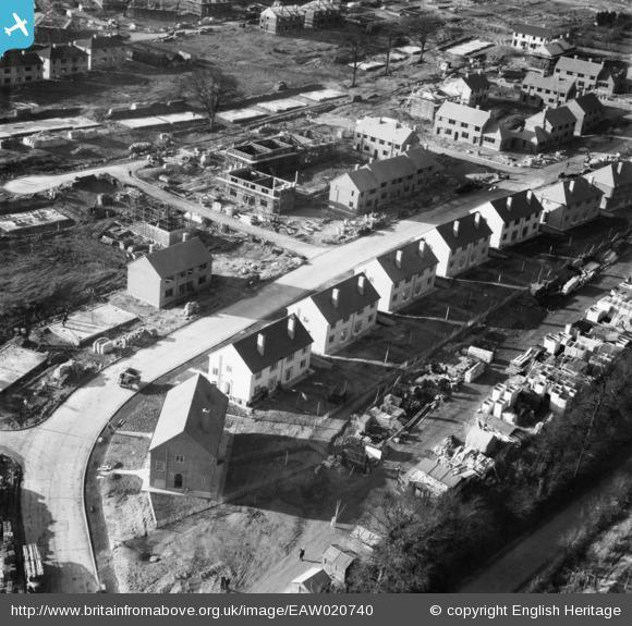 This Is Local London: New housing in Clarendon Way, St Paul's Cray, 1948. Photo from English Heritage