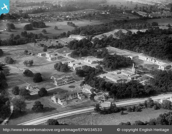 This Is Local London: Bethlem Royal Hospital, Beckenham, 1930. Photo from English Heritage