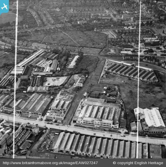 This Is Local London: Sydenham Industrial Estate, New Beckenham, 1949. Photo from English Heritage