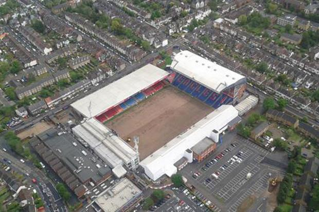 Selhurst Park as pictured this afternoon