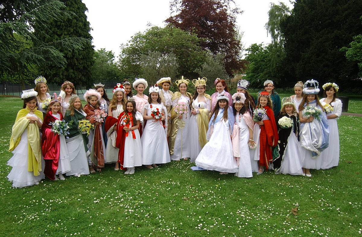 The Hayes May Queen celebration on Hayes Common