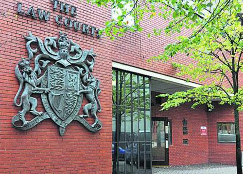 A man caught with heroin stored in his pants in Chippenham has failed to turn up for sentencing
