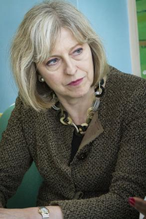 Theresa May declared her support for the knife crime campaign for the first time