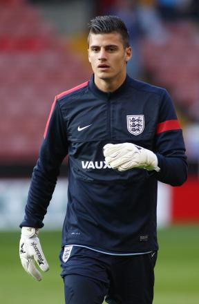 Jonathan Bond has shared goalkeeping duties with Stoke City's Jack Butland at the Toulon Tournament. Picture: Action Images