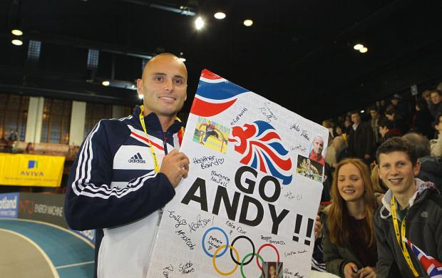 This Is Local London: Fans' favourite: Andy Turner is hoping to defend his Commonwealth Games 100m hurdles title in Glasgow