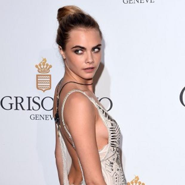 This Is Local London: Cara Delevingne in Cannes (Photo by David Fisher/Rex)