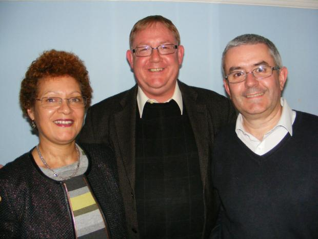 This Is Local London: Liberal Democrat candidates in High Barnet ward, Jane Gibson, Sean Hooker and Duncan Macdonald.