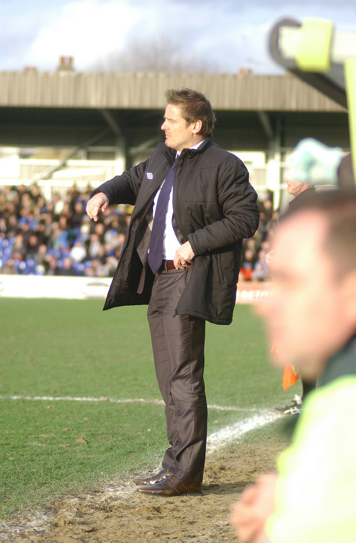 Realist: Dons boss  Neal Ardley	             SP84889