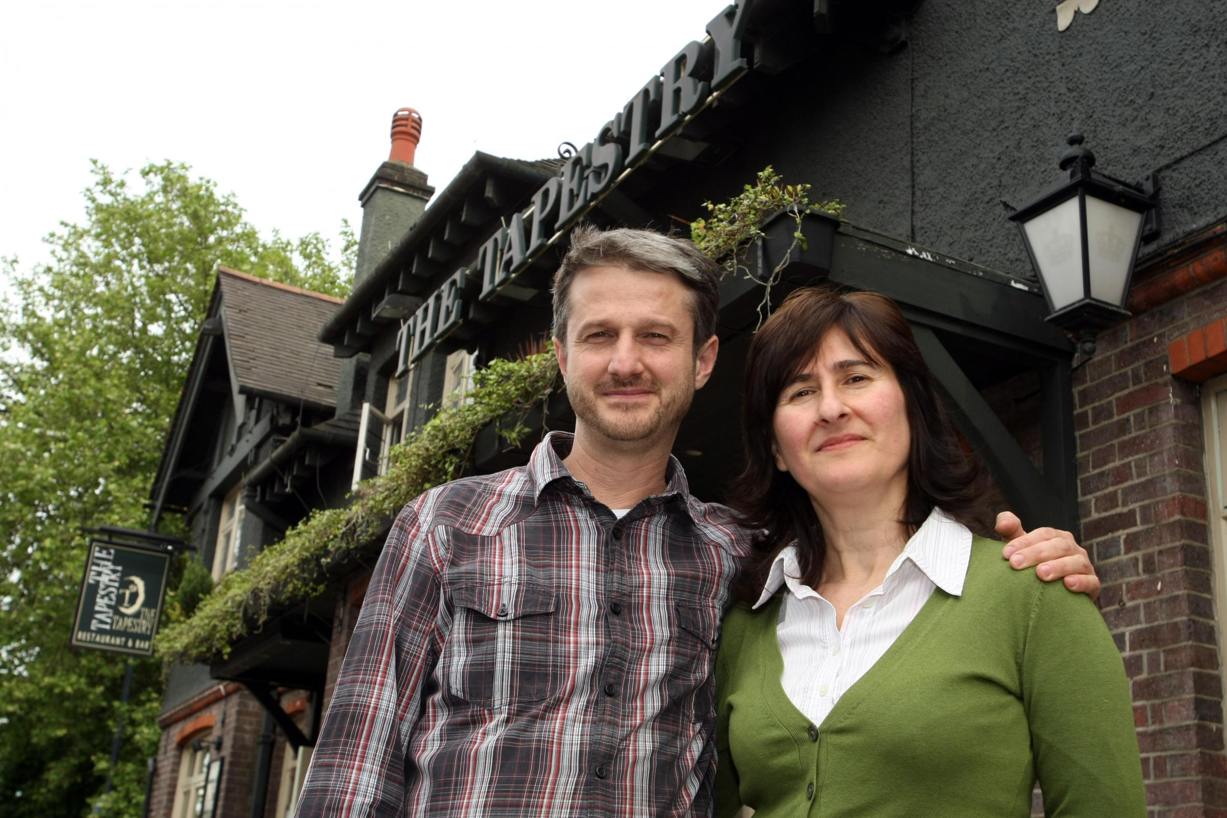 The Tapestry: Siblings Jackson and Lucia Fiorini own the pub