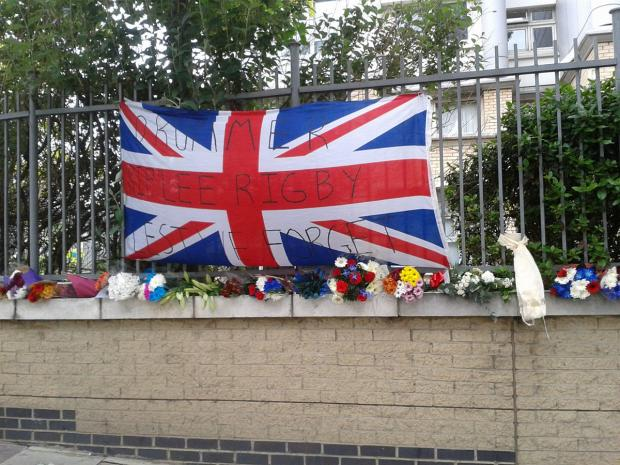 This Is Local London: A tribute at the scene today