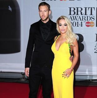 Rita Ora says it's tough being in a long distance relationship with Calvin Harris