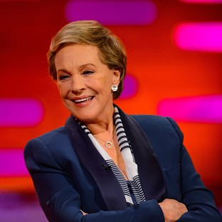 Dame Julie Andrews told Graham Norton how she broke into song on a hill thinking no one was around