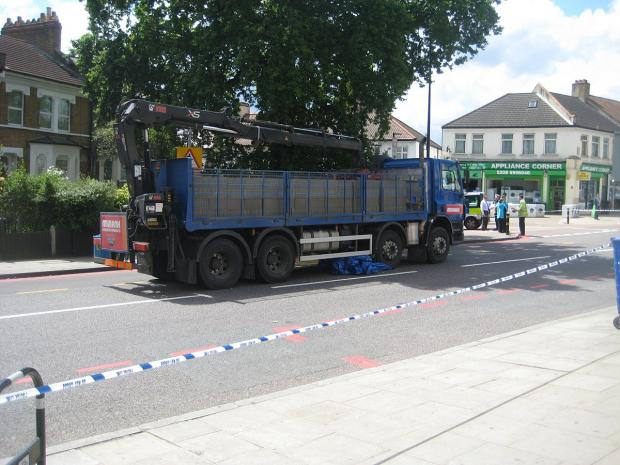 This Is Local London: Catford man in life-threatening condition after 'jumping' in front of lorry