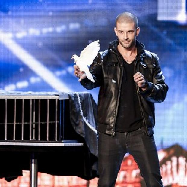 This Is Local London: ITV handout photo of Darcy Oake during the auditions for Britain's Got Talent.