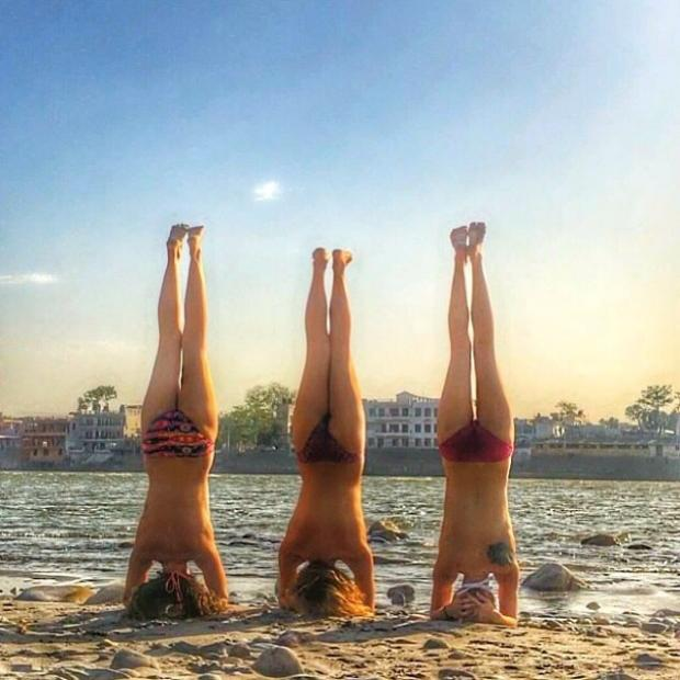 This Is Local London: Three yogis all the way from India