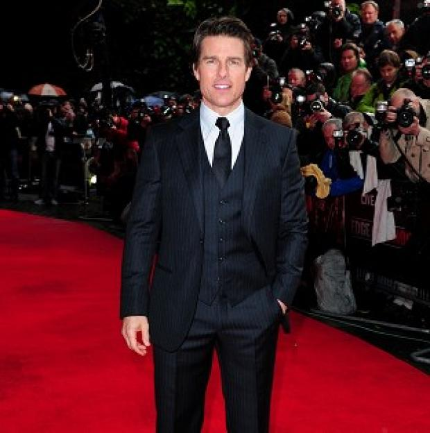 This Is Local London: Tom Cruise attended the world premiere of Edge Of Tomorrow in London